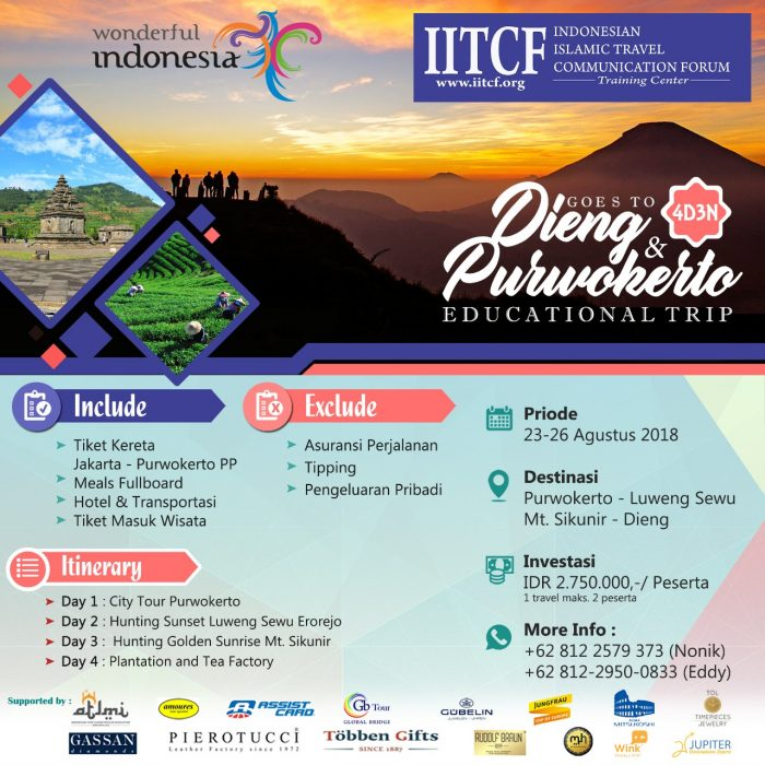wisata Dieng - Purwokerto IITCF