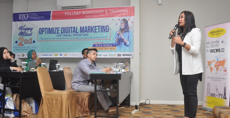 Pelatihan Optimize Digital Marketing for Travel Operators