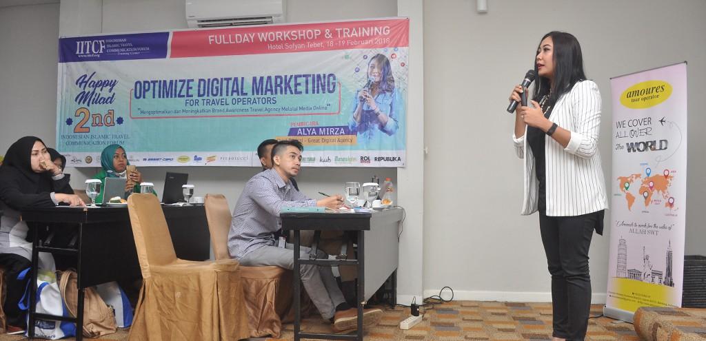 Pelatihan Optimize Digital Marketing for Travel Operators