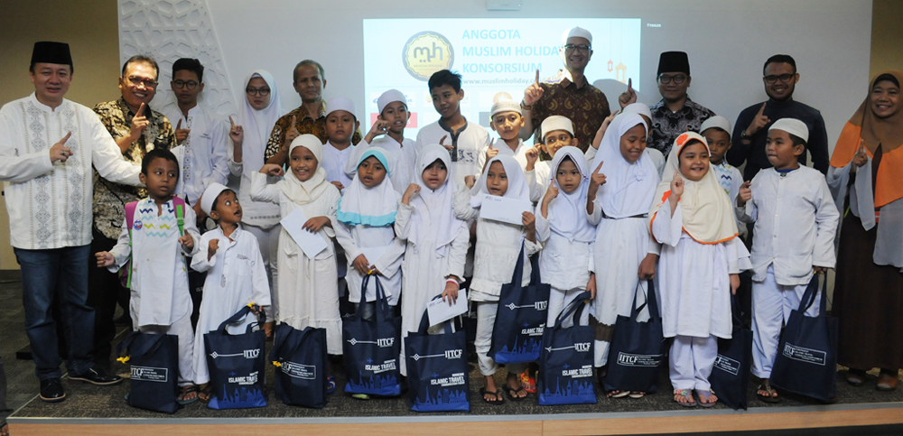 santunan anak yatim program charity iitcf