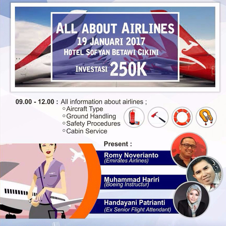 workshop all about airlines iitcf