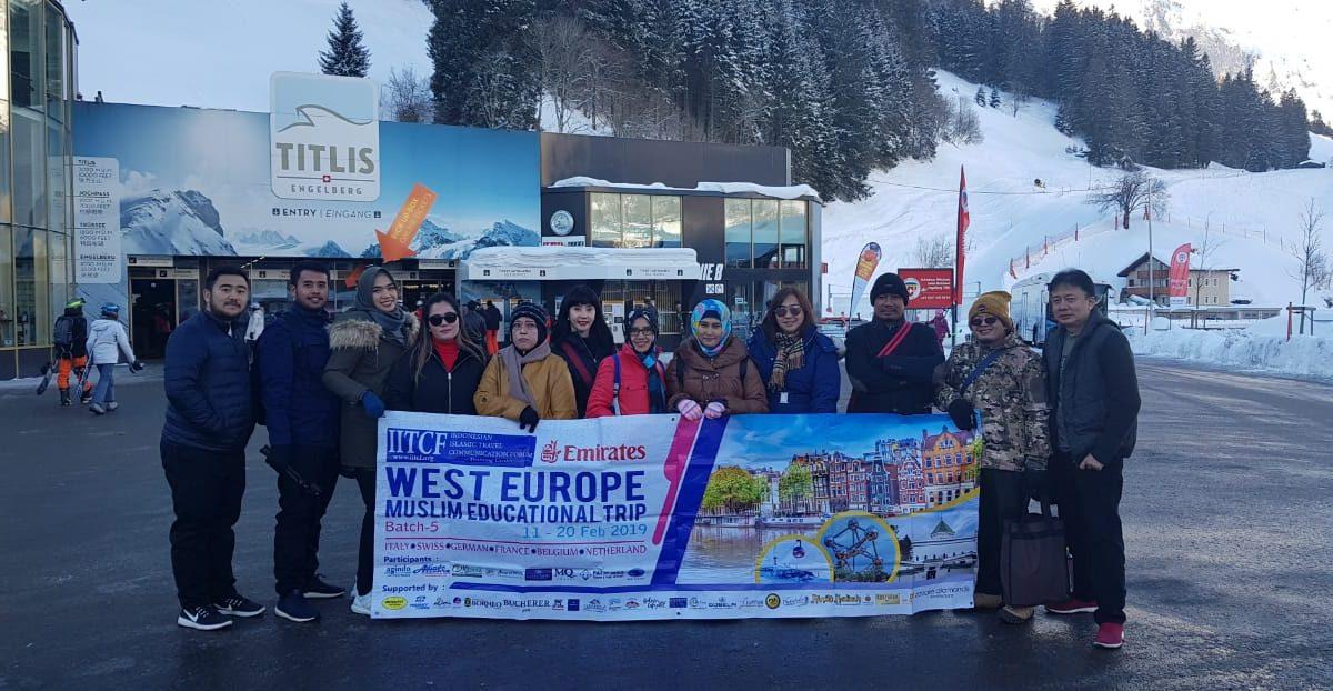 Tour Gour Eropa Barat IITCF