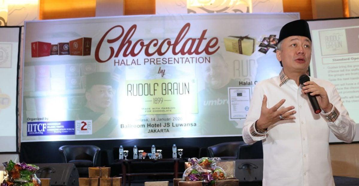 Kampanye Coklat Halal Rudolf Braun